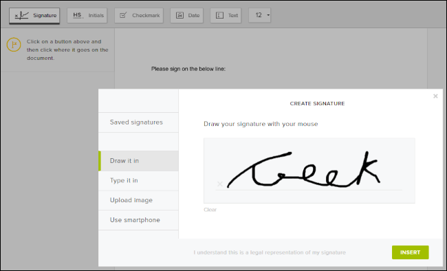 How to make an electronic signature of legal document?