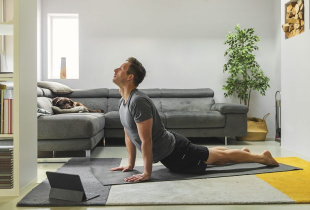 Comfortable and Supportive Yoga Mat with Gripping Ability